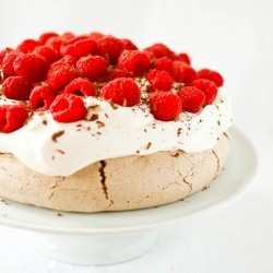 Chocolate Raspberry Pavlova Recipe