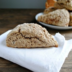 Cinnamon Sugar Whole Wheat Scones