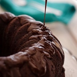 Dark Chocolate Bundt Cake Recipe