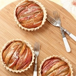 Gingered Pear Tarts Recipe