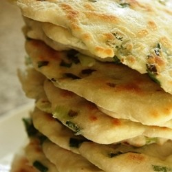 Grilled Green Onion Bread