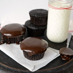 Lightened Up Chocolate Cupcakes