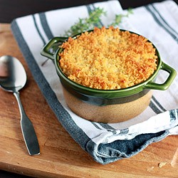 Mashed Cauliflower and Cheese Gratin Recipe