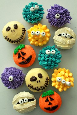 Monsters Cupcakes Recipe