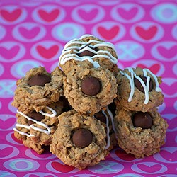 Oatmeal Kiss Cookies