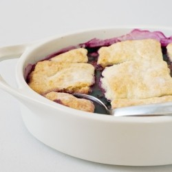 Peach Blueberry Cobbler Recipe