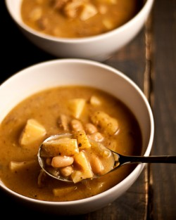 Potato Bean Soup Recipe