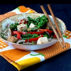 Soba Noodles with Vegetables and TofuRecipe