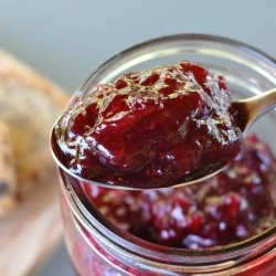 Spreadable Red Wine Cranberry Sauce
