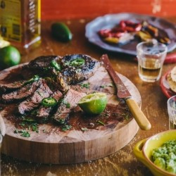 Tequila and Lime Marinated Steak Recipe