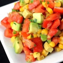 Tomato Corn Avocado Salsa