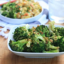 Asian Broccoli with Garlic and Ginger