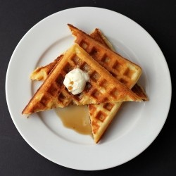 Brown Sugar Sour Cream Waffles Recipe