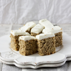 Carrot Cake with Ricotta Frosting Recipe