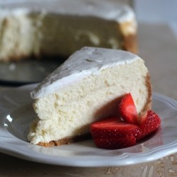 Cheesecake with Sour Cream Topping Dorie Greenspan Recipe