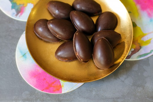 Chocolate-Almond Butter Easter Eggs