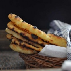 Homemade Naan Bread stovetop Recipe