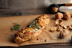 Nuts and Burnet Pull Apart Bread Recipe