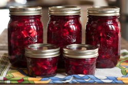 Roasted Beet Apple Relish