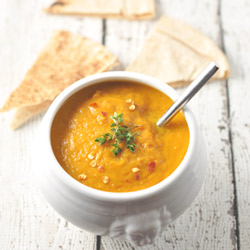 Carrot Ginger and Sweet Potato Soup Recipe