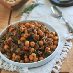 Indian Chickpeas with Tomato