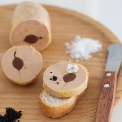 Foie Gras Terrine with Quince and Salt Recipe