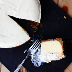 Cheesecake with Sour Cream Topping Recipe