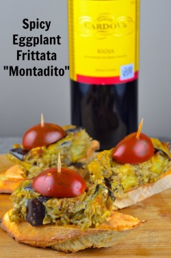 Tapas from Spain: Spicy Eggplant