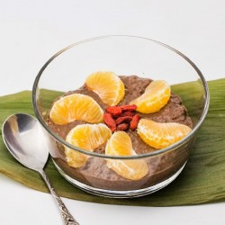 Chocolate Gingerbread Chia Pudding