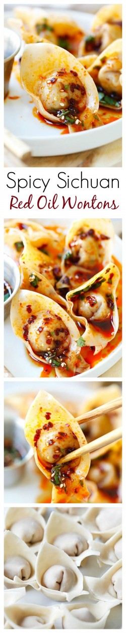 Sichuan Red Oil Wontons