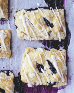 Rustic Blueberry Hand Pies Recipe