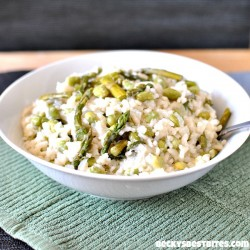 Spring Risotto with Fresh Asparagus