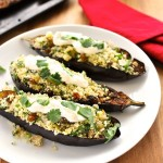 Middle Eastern Eggplant w/Couscous