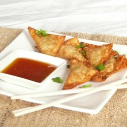 Chicken Green Chili Wontons Recipe