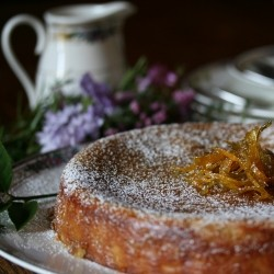 Almond Lime Syrup Cake Gluten Free Recipe