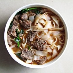 Noodle Soup with Marinated Beef Recipe